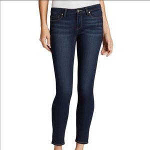 PAIGE • Dark Wash Verdugo Ankle Skinny Jeans